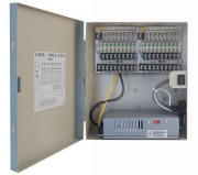12V DC Power Distribution Box, 18 Ports, 10 Amps, UL Listed
